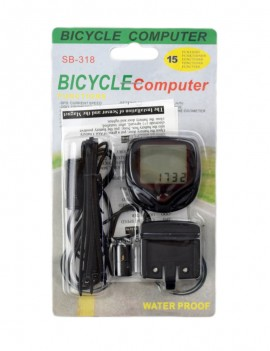 LCD bicycle counter