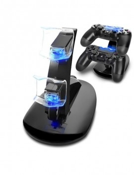 Dual Wireless Controller Charger for PS4 Controller